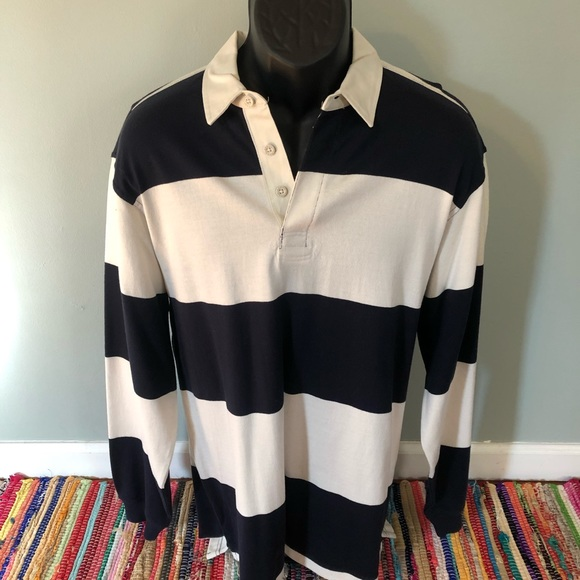 Arrow Other - Fall Long Sleeve Rugby Polo Shirt Striped